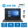 "HP Laptop/Notebook 245 G6 - 14"" HD LED AMD E2-9000e 8GB DDR4 1TB HDD"