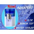 New Aquaport AQP24CS Water Cooler White - 6 MONTH RENTAL CONTRACT ONLY $10.00PER WEEK