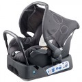 NEW MOTHER'S CHOICE ONE SAFE INFANT CARRIER CAPSULE BLACK/WHITE -0 TO 6 MONTHS