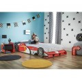Speedy Car Kids Single Bed with mattress
