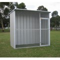 Col Western Sheds Flat Roof Rectangle Bird Aviary