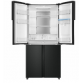 Haier 565L French Door Fridge with Water Dispenser Black HRF565YHC