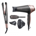 Remington Curl & Straight Confidence Hair Dryer & Hair Styler Set
