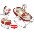 The TINYLOVE 3-in-1 Rocker Napper-Red