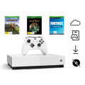 Xbox One S 1TB Console + 3 Digital Edition Games