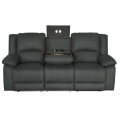 Captain 3 Seater Electric Recliner Lounge