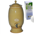 Southern Cross Pottery - Handmade Stoneware Ceramic & Clay Water Purifier Coffee + Fluoride Water Filter.  ONLY $19 per week on a 6 month rental contract