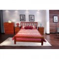 Fletcher Queen Bed Frame With Mattress ONLY