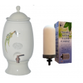 Southern Cross Pottery 12L Water Purifier Ceramic - Gumleaf Creme Fluoride Filter.  ONLY $19 per week on a 6 month rental contract