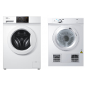 Haier 7kg Front Load Washer HWF70BW1 & 6kg Haier Dryer HDV60A1 - PACKAGE