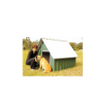 Large Dog Kennel - Gable Roof