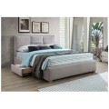 Kingston Queen Bed with 2 Drawers Either Side Comes with Pillowtop Mattress