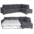 Kristie 3 Seater Sofa Bed with LHF Chaise