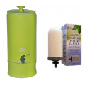 Southern Cross Pottery Ceramic Water Filter Purifiers - Lime + SCP Fluoride Plus Filter ONLY $19 per week on a 6 month rental contract
