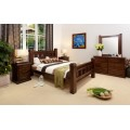 Rustic 5 Piece Queen Bedroom Suite