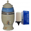 Southern Cross Handmade Stoneware & Clay Landscape Sand 12L Water Purifier + Bonus Sterasyl Filter