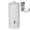 Southern Cross Pottery Ceramic Water Filter Purifiers - White + SCP Fluoride Plus Filter ONLY $19 per week on a 6 month rental contract