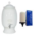 Southern Cross Pottery Water Purifier Ceramic 12L White + Bonus Sterasyl Filter